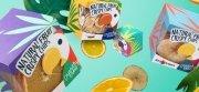 Дизайн упаковки фруктовых чипсов Crunchy Crew