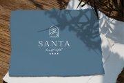 Santa Resort Hotel 4* Логотип и Фирменный стиль отеля